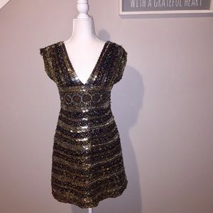 Scala Sequined Formal Dress